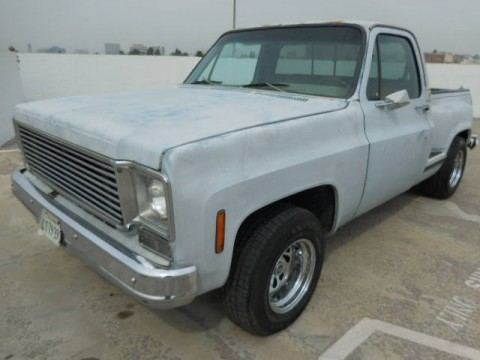1975 Chevrolet C-10 Pickup Truck Restoration Project for sale