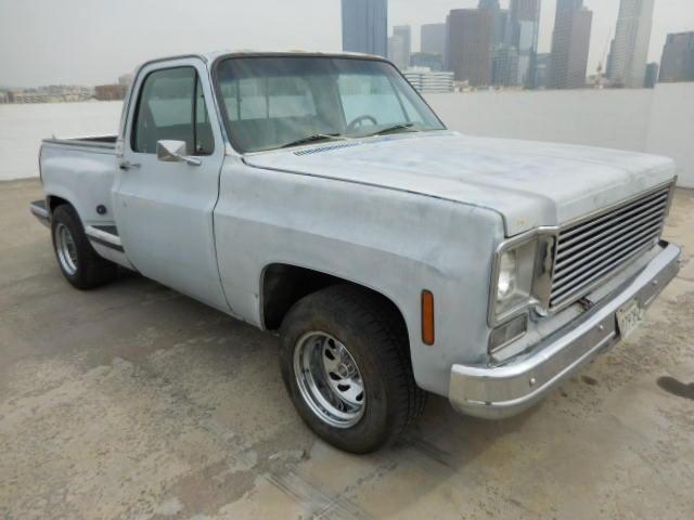 1975 Chevrolet C-10 Pickup Truck Restoration Project