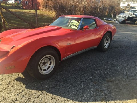 1976 Chevrolet Corvette Running Driving Project. for sale