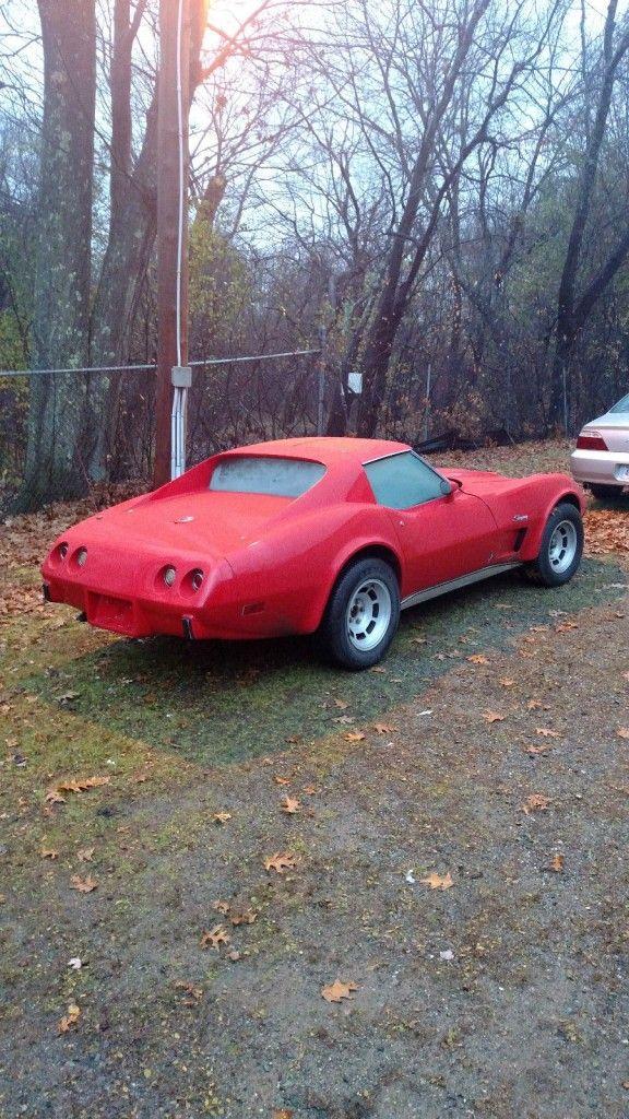 1976 Chevrolet Corvette Running Driving Project.