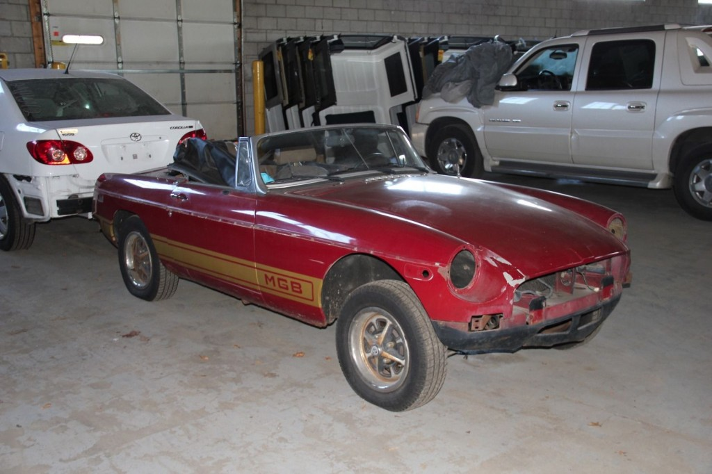 1979 MG MGB Project