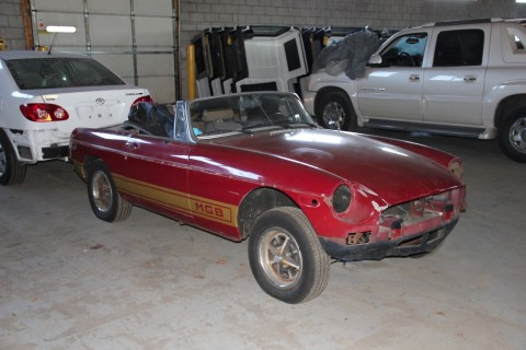 1979 MG MGB Project for sale