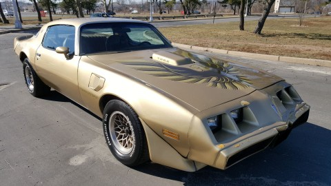 1979 Pontiac Trans Am WS4 project for sale