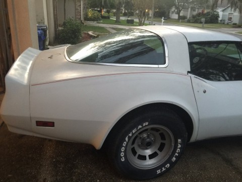 1980 Chevrolet Corvette Repairable Project for sale