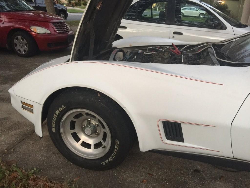 1980 Chevrolet Corvette Repairable Project