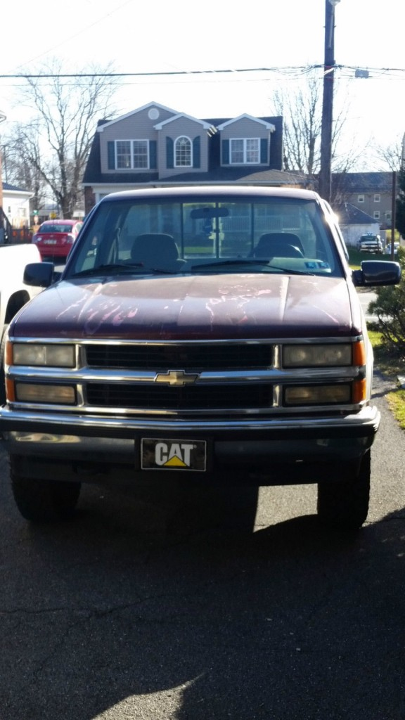 1995 Chevy K1500 Project Truck, 4×4 Chevrolet Silverado, 350 TBI, Rebuilt Engine