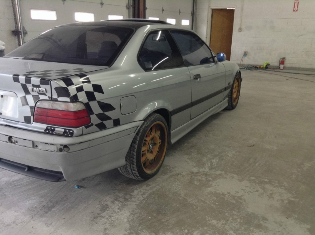 1996 bmw m3 e36 coupe project car for sale. Black Bedroom Furniture Sets. Home Design Ideas