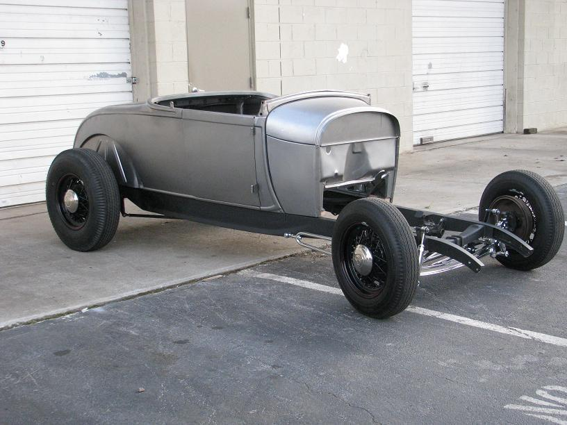 1929 Model A Roadster Project Brookville Body On Pete