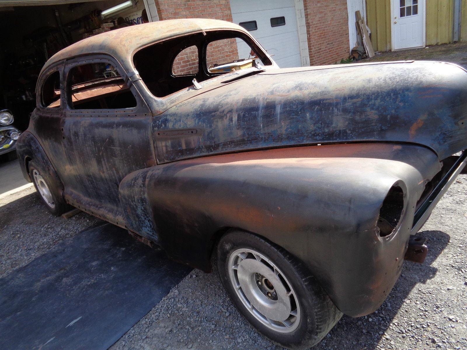1948 Chevrolet Fleet Master 2 Door Coupe Rat Rod Project