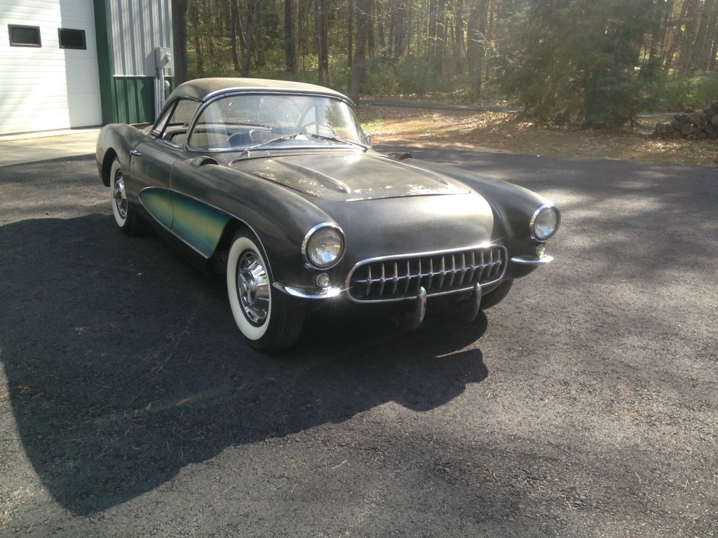 1956 chevrolet corvette project for sale. Black Bedroom Furniture Sets. Home Design Ideas