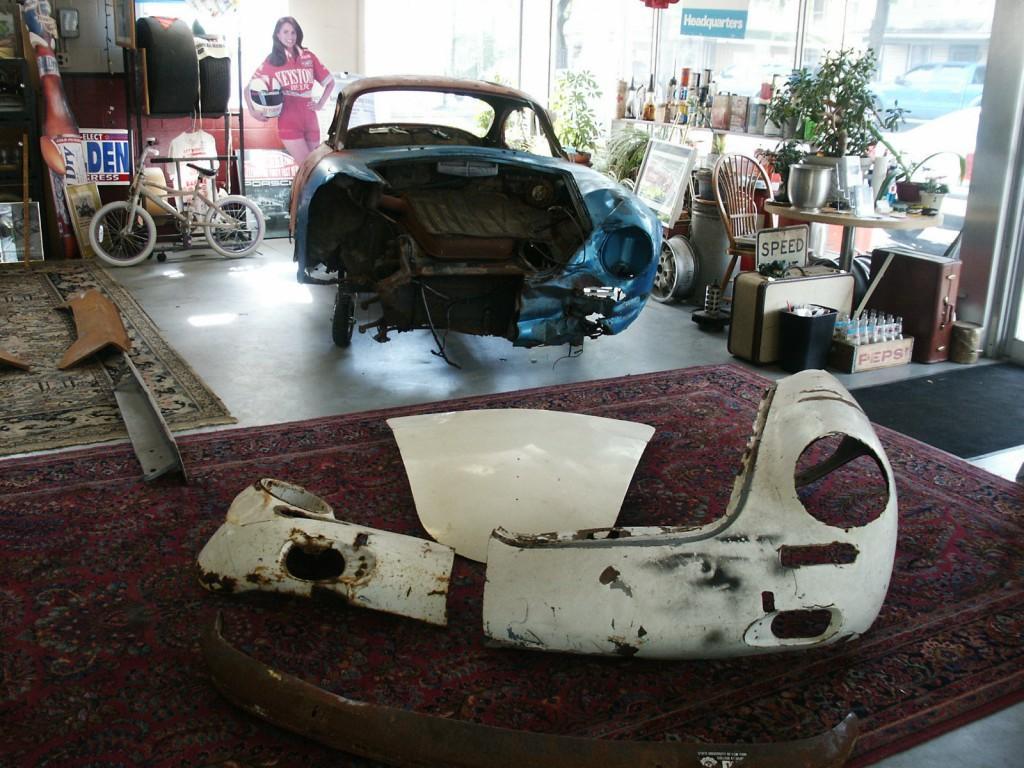 1963 Porsche 356 B T6 Coupe Restoration Project