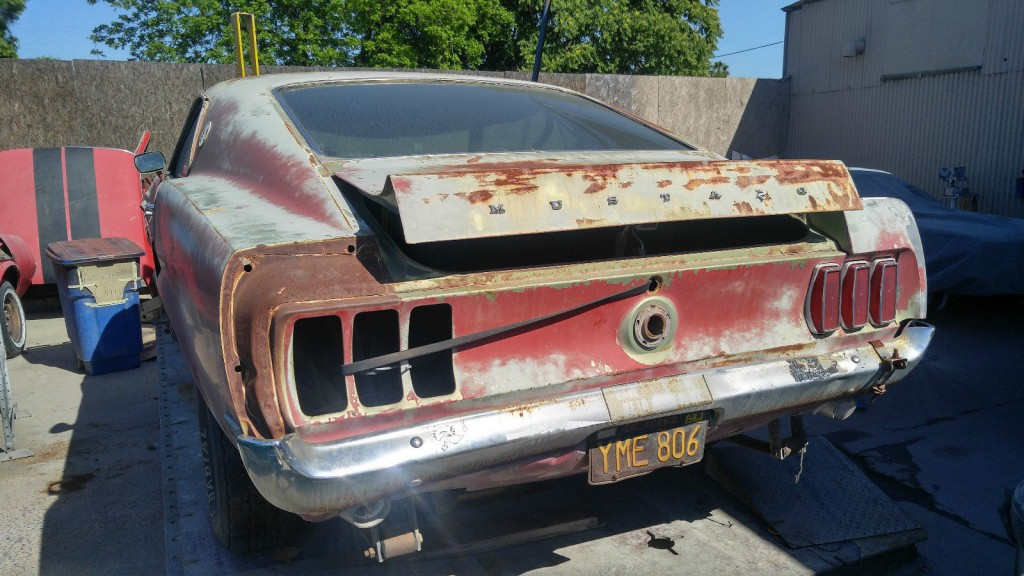 1969 Ford Mustang Mach 1 Project Car