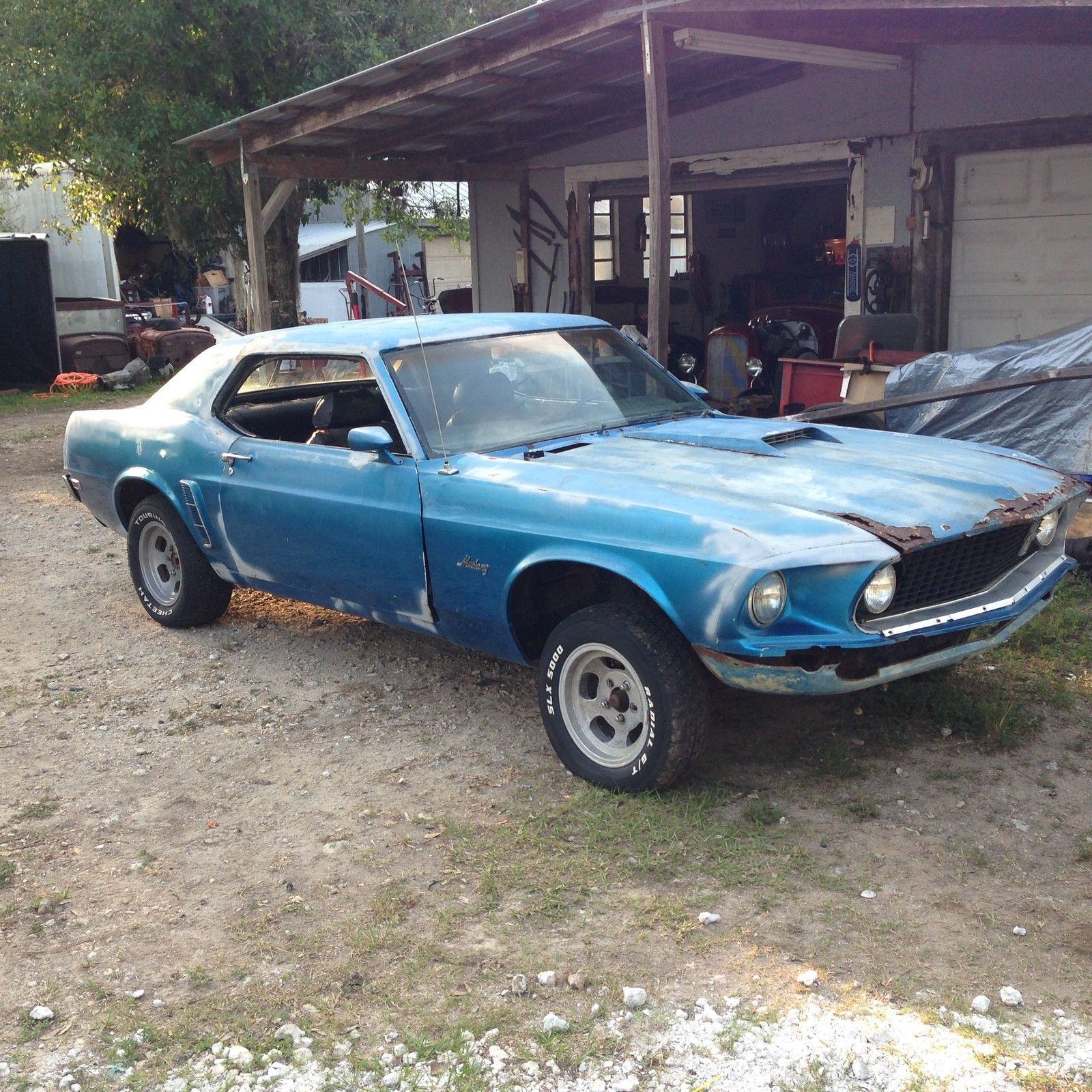 1969 ford mustang project 302 automatic for sale. Black Bedroom Furniture Sets. Home Design Ideas