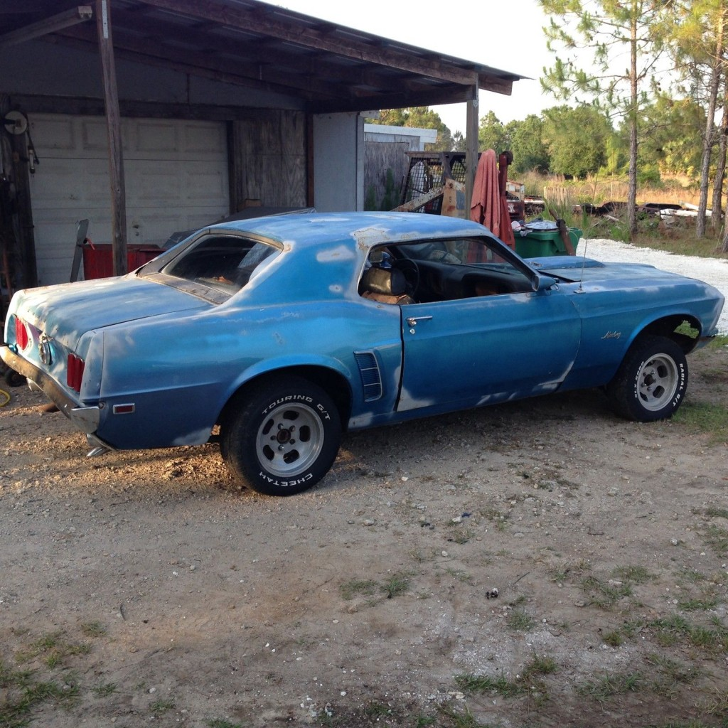 1969 Ford Mustang Project 302 automatic