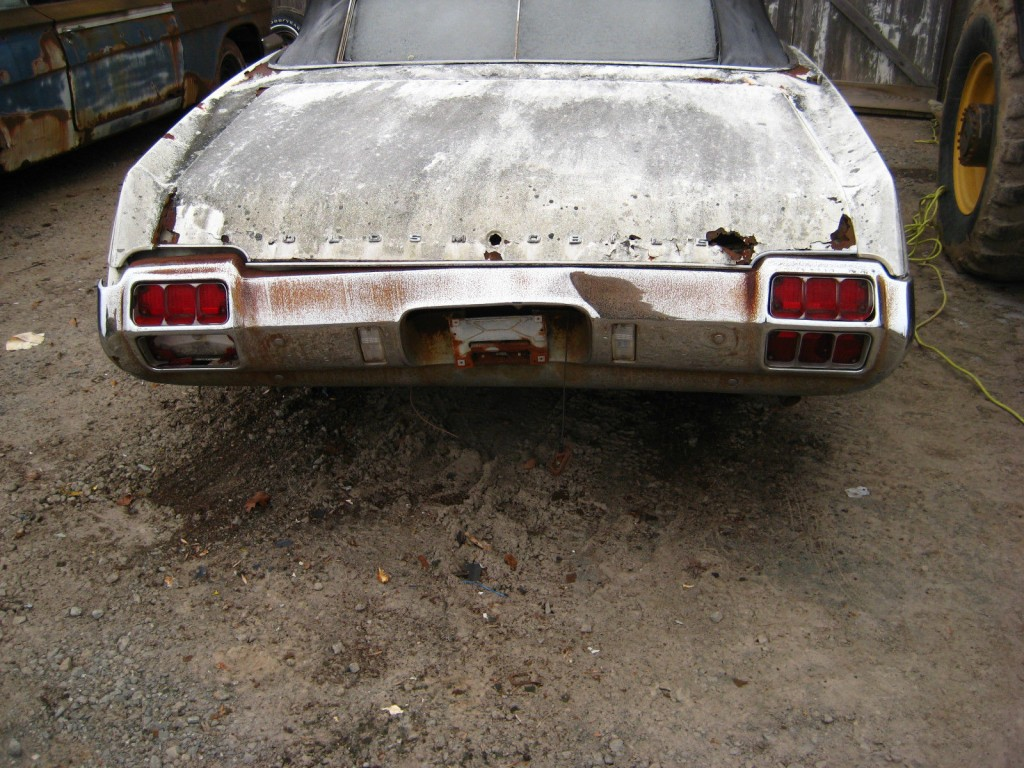 1972 Oldsmobile Cutlass Convertible Cutlass 442 Clone Restoration Project