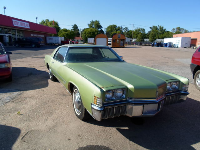 1972 Oldsmobile Toronado Project
