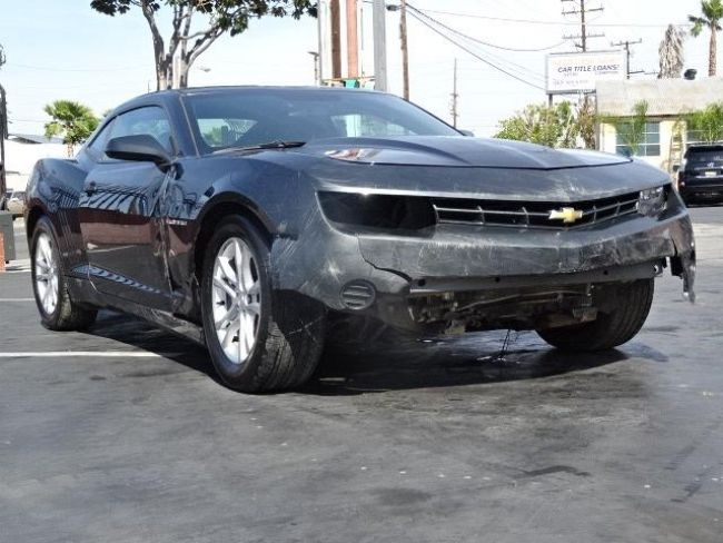 2014 Chevrolet Camaro LS Damaged Rebuilder