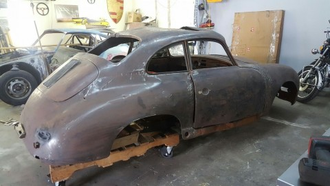 1957 Porsche 356 Project for sale