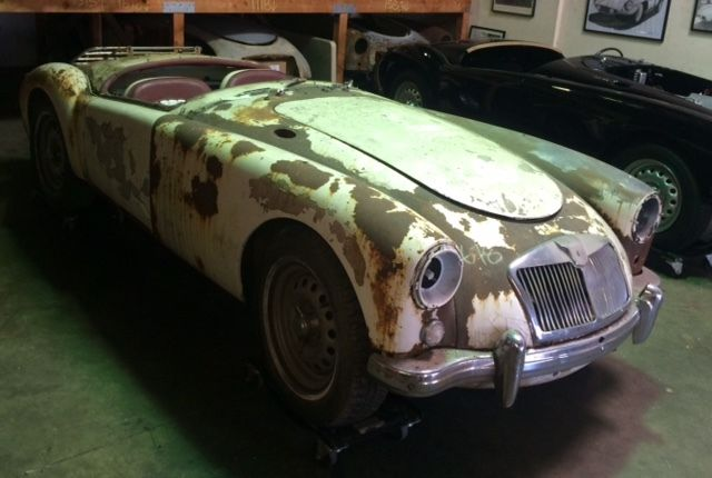 1959 MGA Twin Cam Restoration Project For Sale