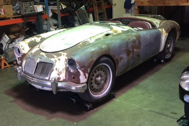 1959 MGA twin cam Restoration Project