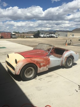 1959 Triumph TR3 Roadster project for sale