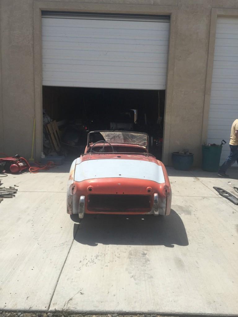 1959 Triumph TR3 Roadster project