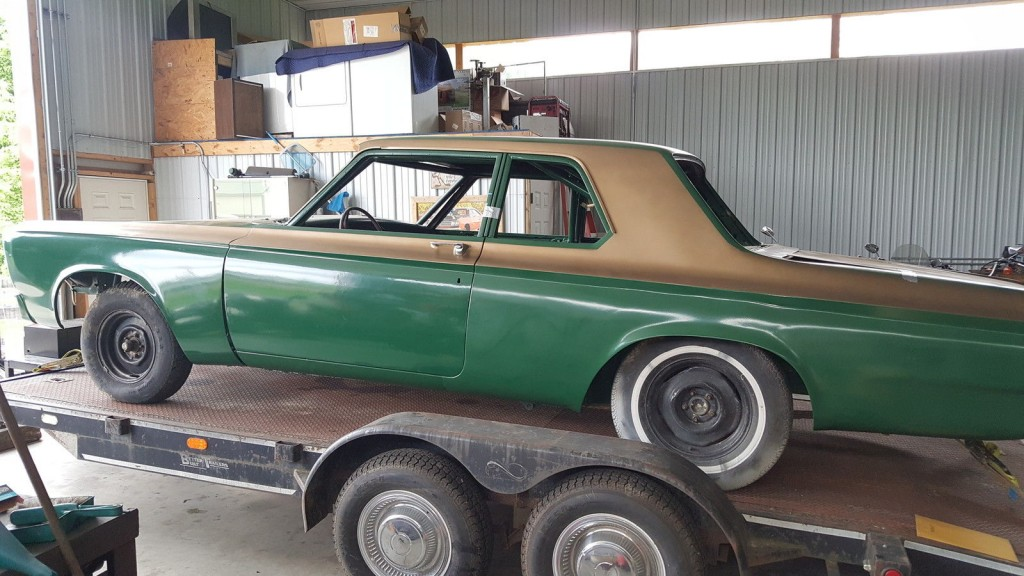 1965 Plymouth Belvedere Sedan Project Nostalgia drag car