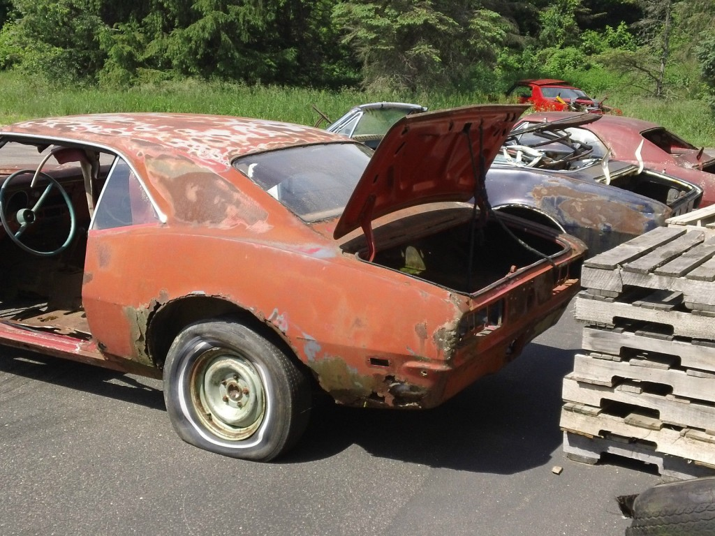 1968 Chevrolet Camaro Project car with VIN