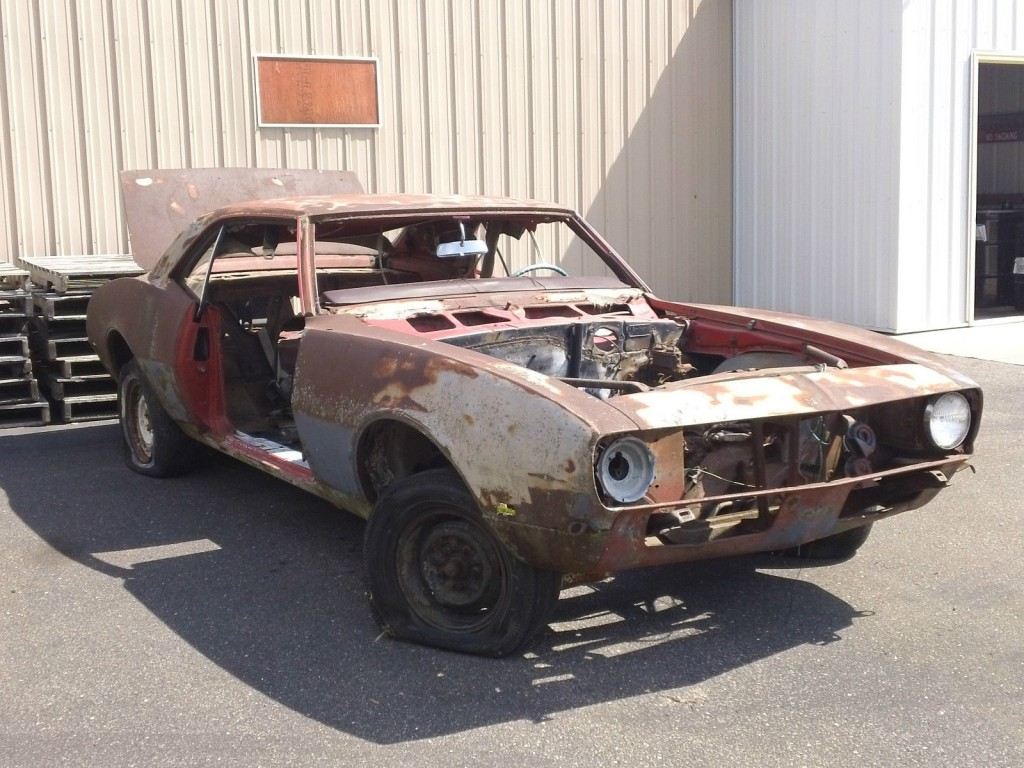 1968 Chevrolet Camaro Project Car With VIN For Sale
