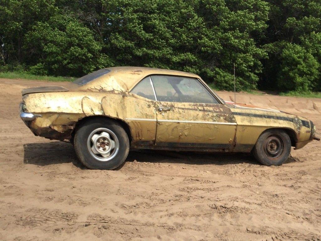 1969 Chevrolet Camaro Project car bar find