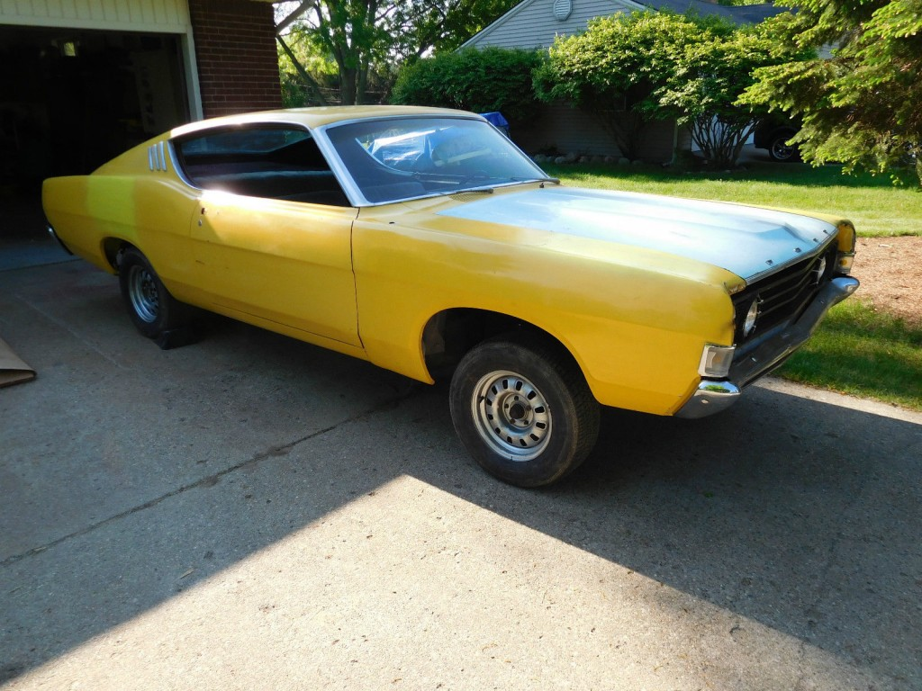1969 Ford Fairlane Fastback Project Car