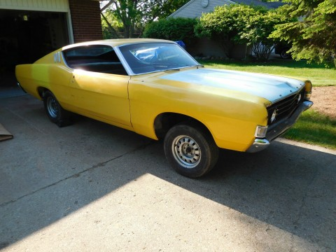 1969 Ford Fairlane Fastback Project Car for sale