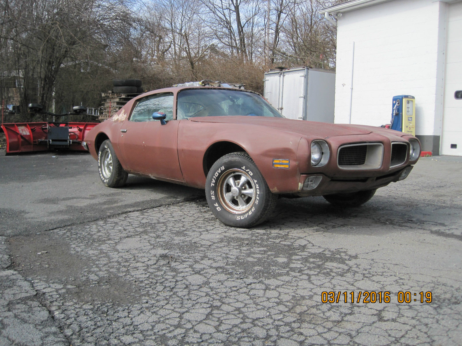 1972 Pontiac Firebird Trans Am Project Car For Sale