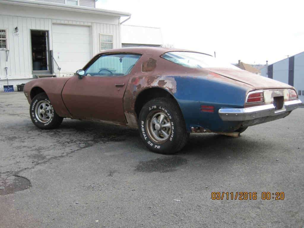 Pontiac Firebird Trans Am Project Car For Sale X