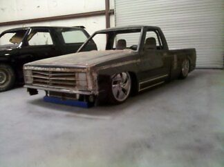 1987 Chevrolet S 10 Custom Project Truck for sale