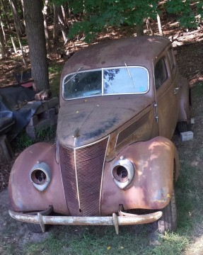 1937 Ford Fordor Sedan 85 HP Flathead V8 Restoration Project car for sale