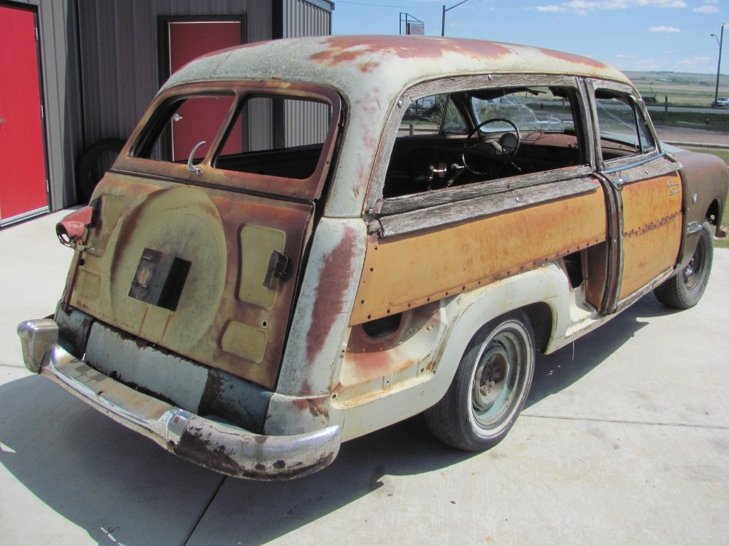 1951 Ford Meteor Country Squire Custom Deluxe 2 door Woodie Station Wagon