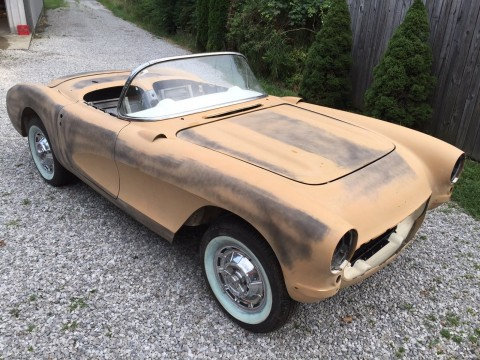 1957 Chevrolet Corvette Convertible 283/270hp 4 Speed Project Car for sale