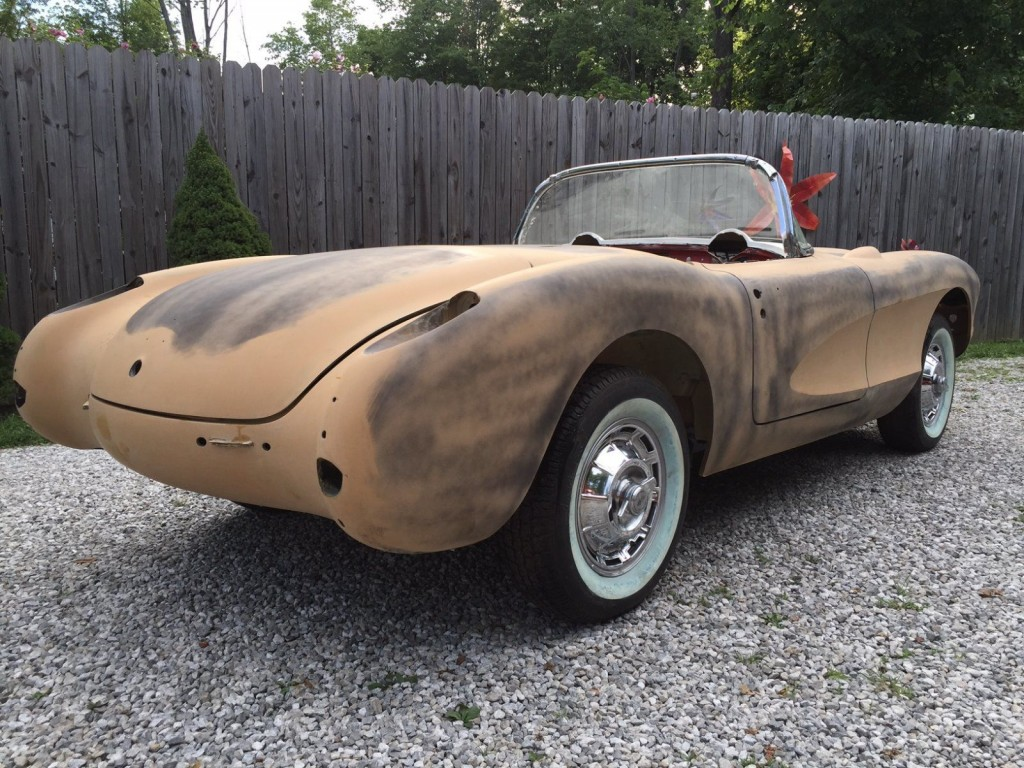 1957 Chevrolet Corvette Convertible 283/270hp 4 Speed Project Car