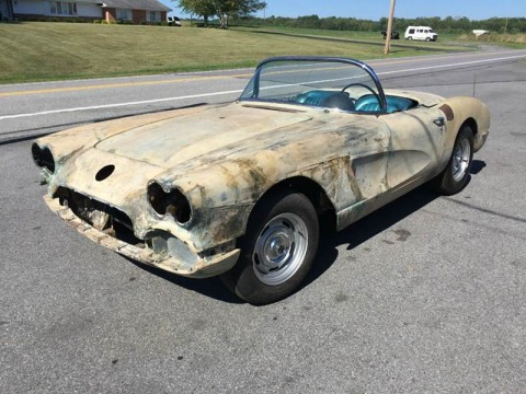 1959 Chevrolet Corvette Convertible Project for sale