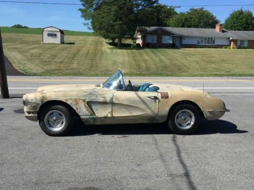 1959 Chevrolet Corvette Convertible Project