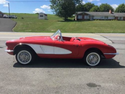 1960 Chevrolet Corvette Convertible Project for sale