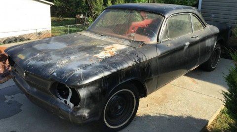 1963 Chevrolet Corvair Restoration Project for sale