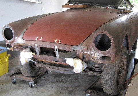 1966 Sunbeam Tiger Mark 1A Project Restoration for sale
