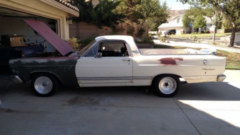 1967 Ford Ranchero 500XL Project car for sale