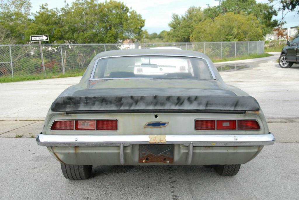 1969 Chevrolet Camaro Project car
