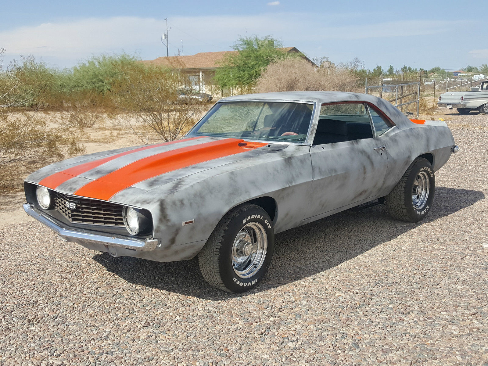 1969 chevrolet camaro ss real x55 hugger orange super sport pro touring project for sale. Black Bedroom Furniture Sets. Home Design Ideas
