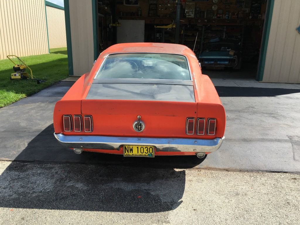 1969 Ford Mustang Fastback Sport roof project car
