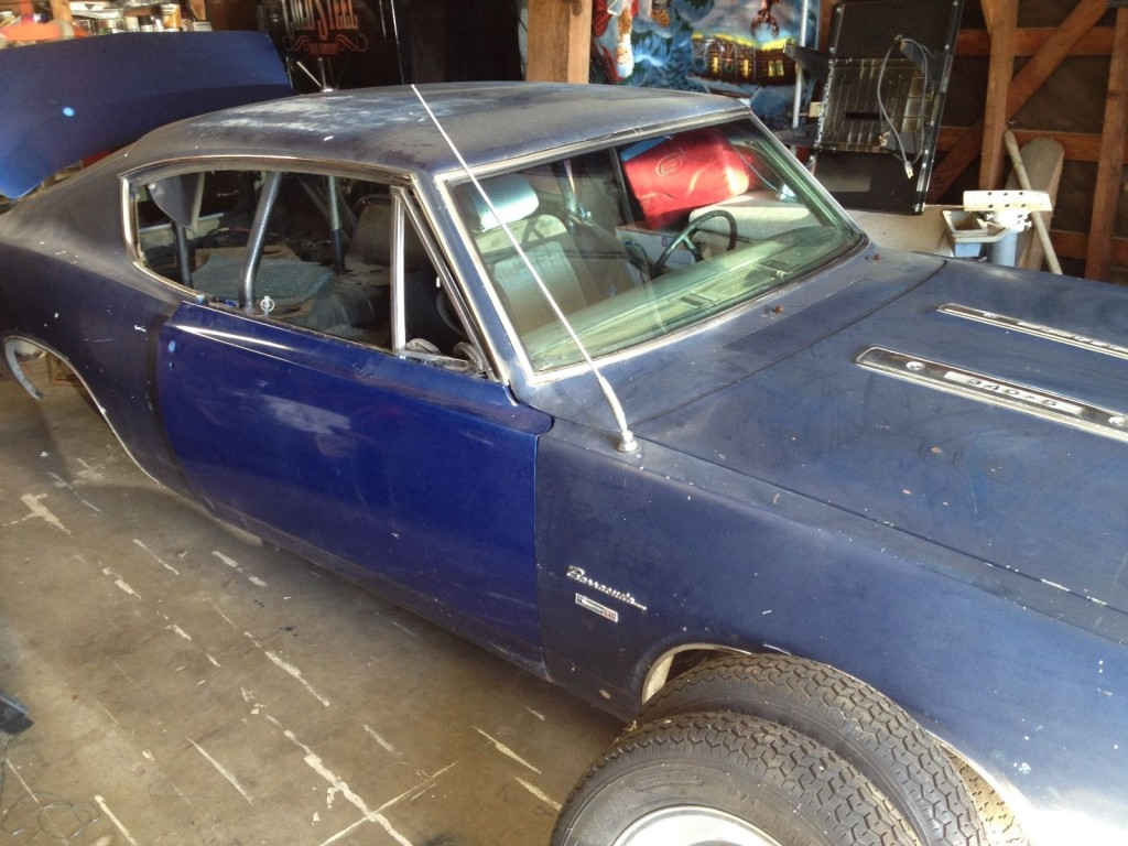 1969 Plymouth Barracuda Project car
