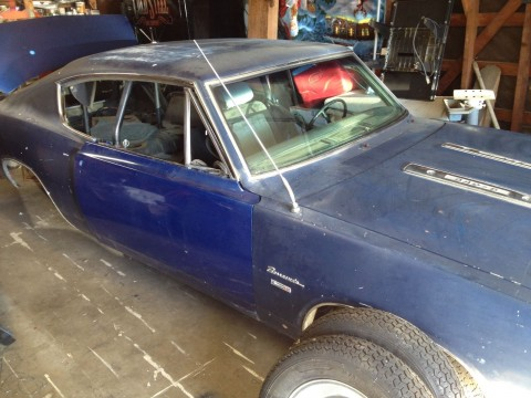 1969 Plymouth Barracuda Project car for sale
